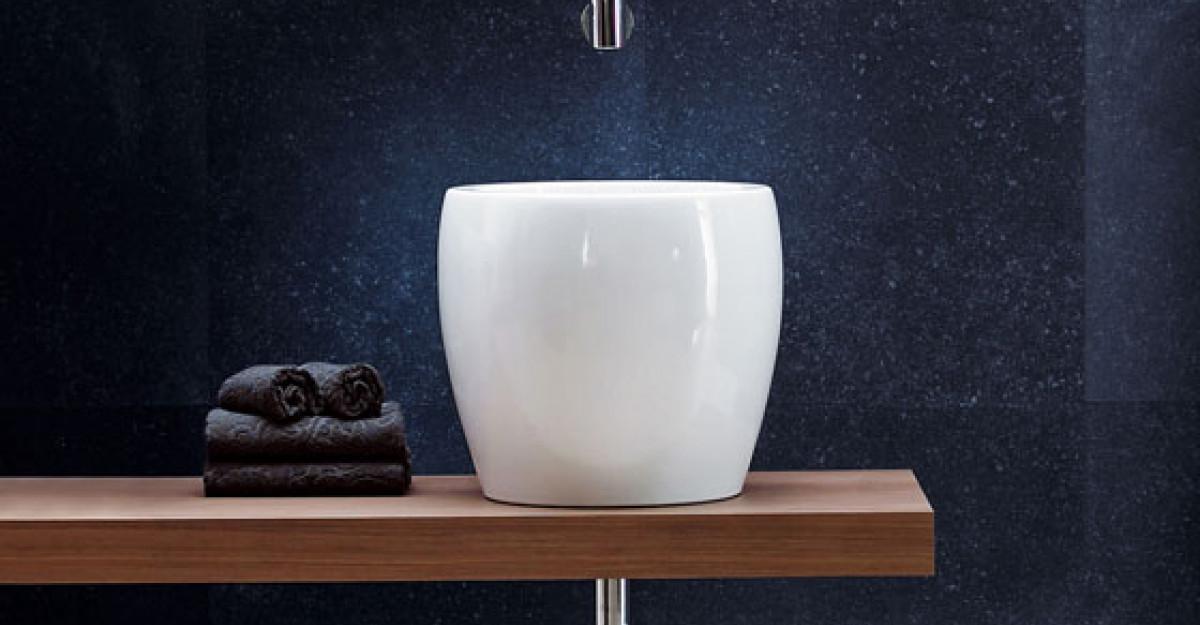 Design-icon in lumea camerelor de baie - lavoarele Tam-Tam de la Roca