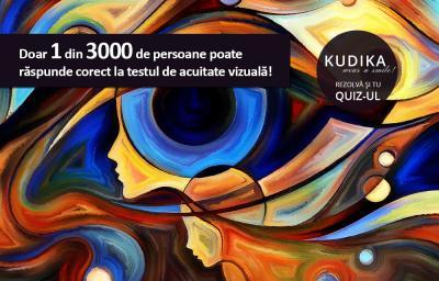 Doar 1 din 3000 de persoane poate raspunde corect la testul de acuitate vizuala!