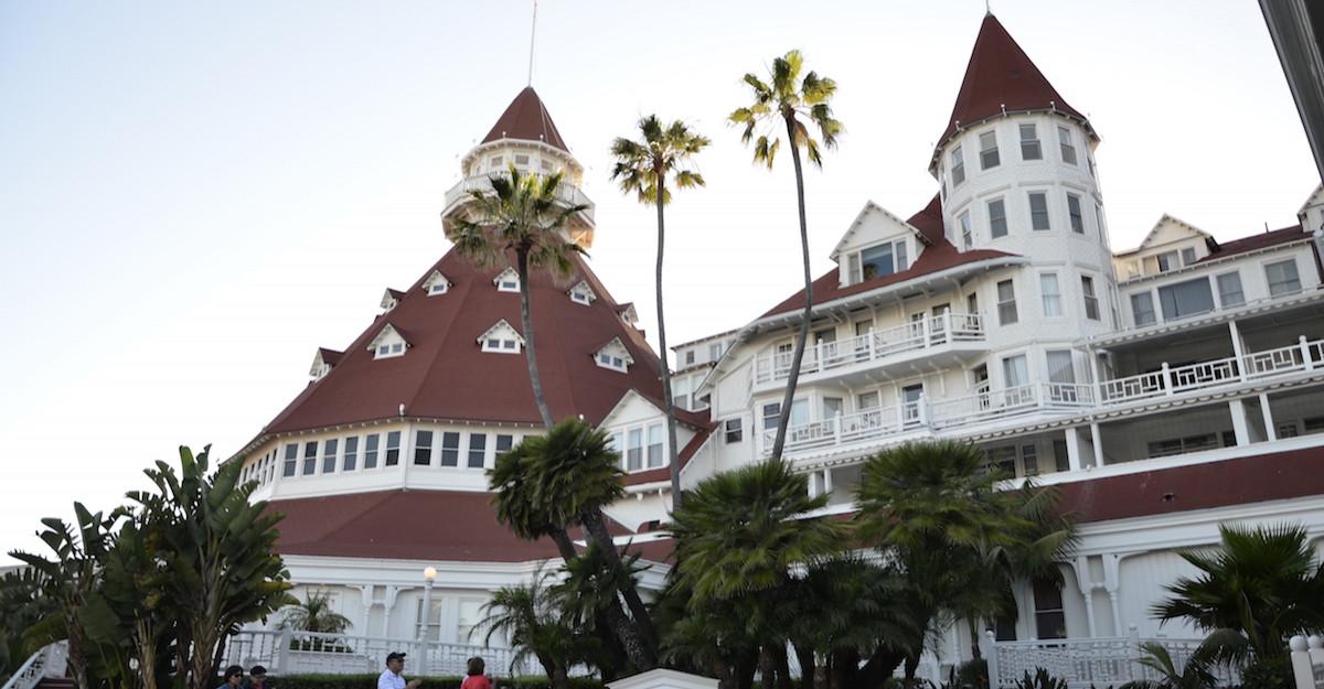 Hotel del Coronado - Pe urmele lui MARYLIN MONROE