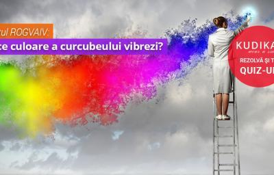 Testul ROGVAIV: In ce culoare a curcubeului vibrezi?