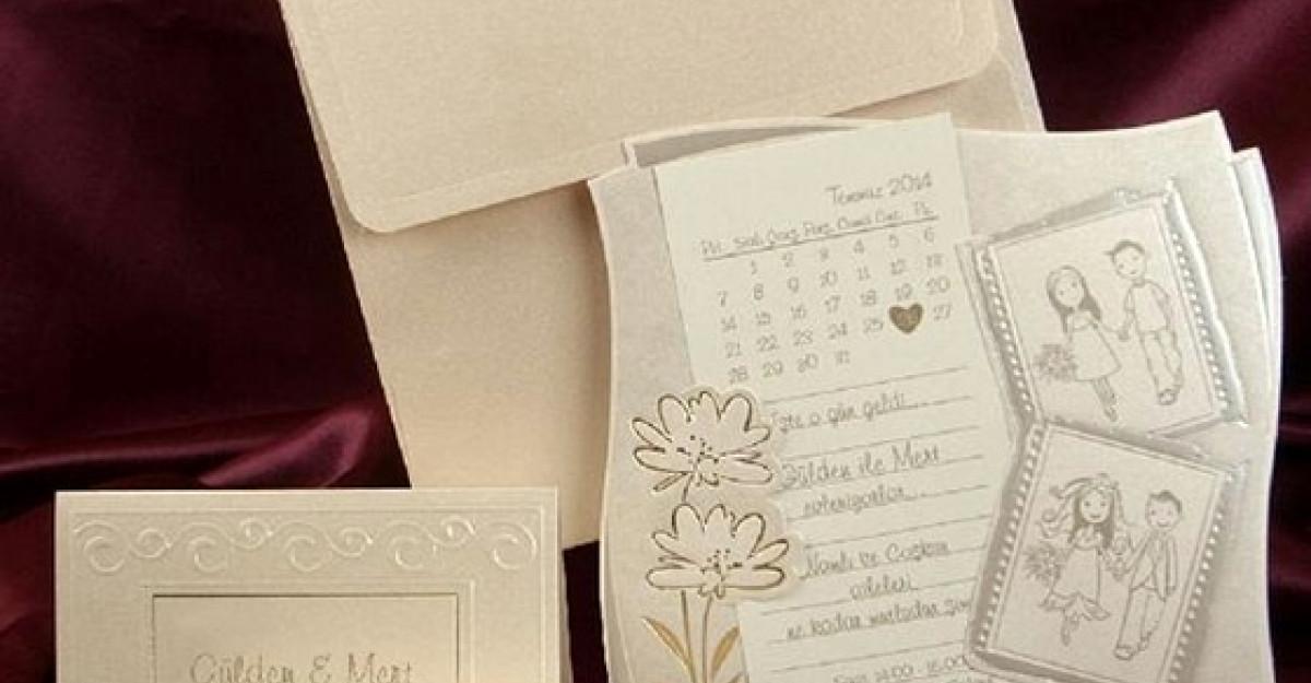 30 de Invitatii Sofisticate de Nunta