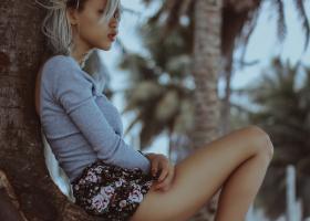 Pantaloni scurți cu imprimeu - modele la modă: cu talie înaltă sau tip bermude