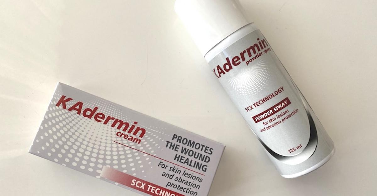 Kitul tău de prim ajutor, într-un singur produs inovator: KAdermin
