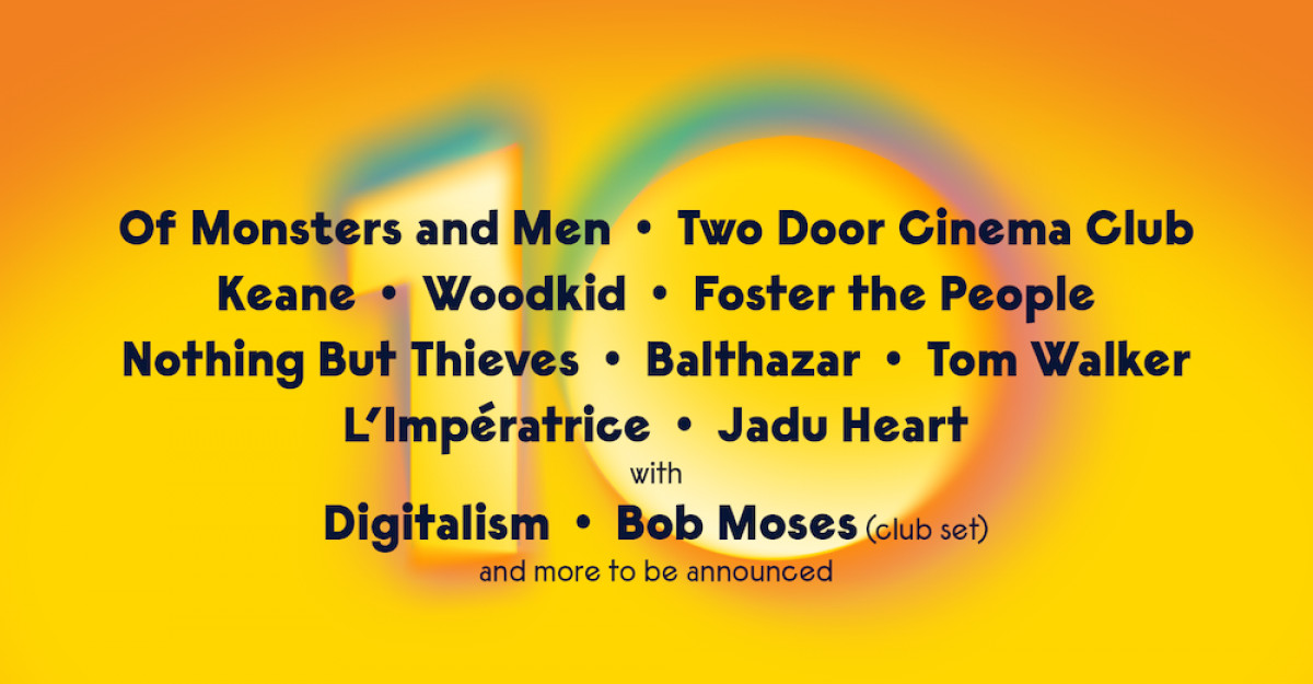 Two Door Cinema Club, Keane, Foster the People, Balthazar, L'Imperatrice și Jadu Heart la Summer Well în acest an