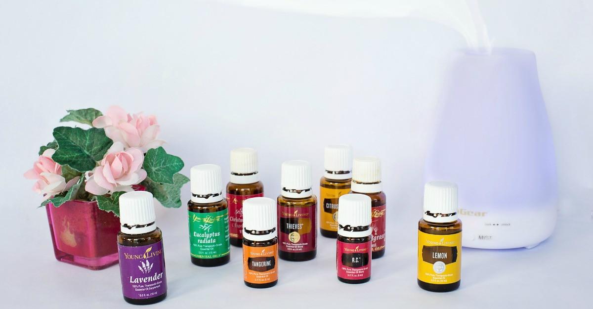 6 uleiuri volatile pentru aromaterapie si ambient