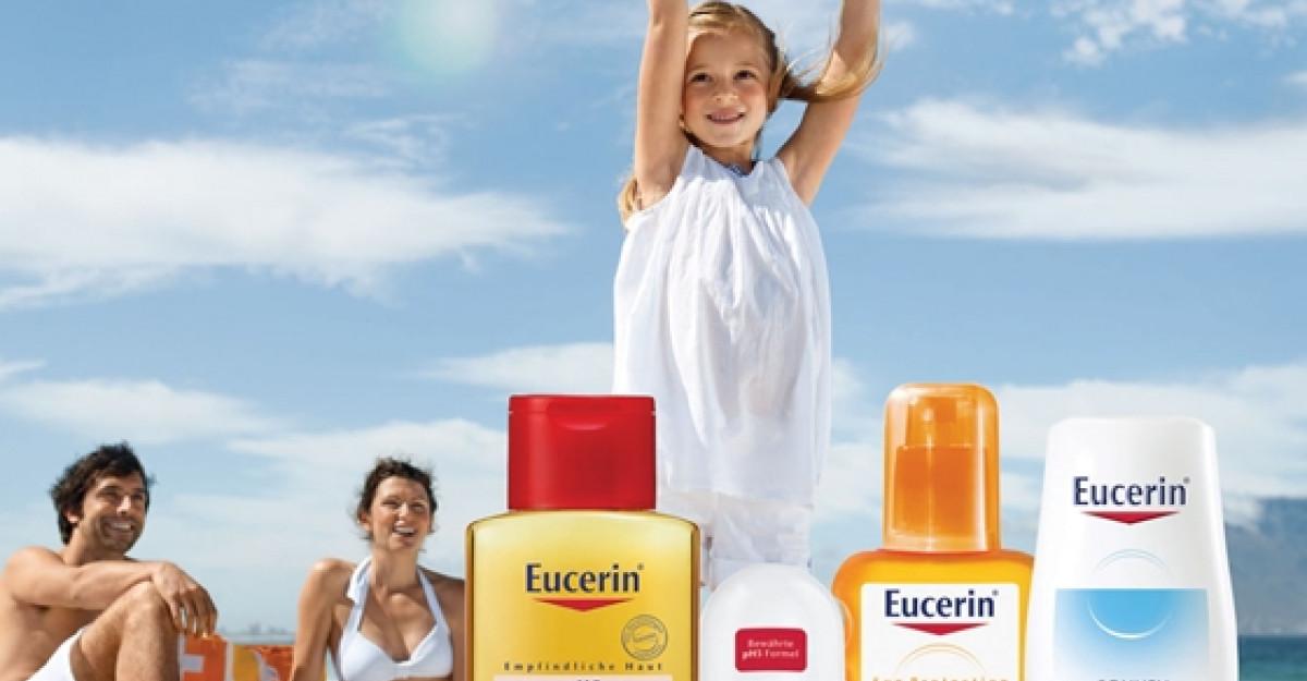Eucerin te ajuta sa-i oferi pielii tale cel mai frumos cadou pe timp de vara: ingrijirea