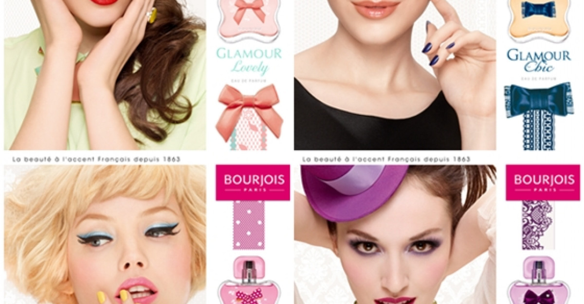Noile parfumuri GLAMOUR de la Bourjois