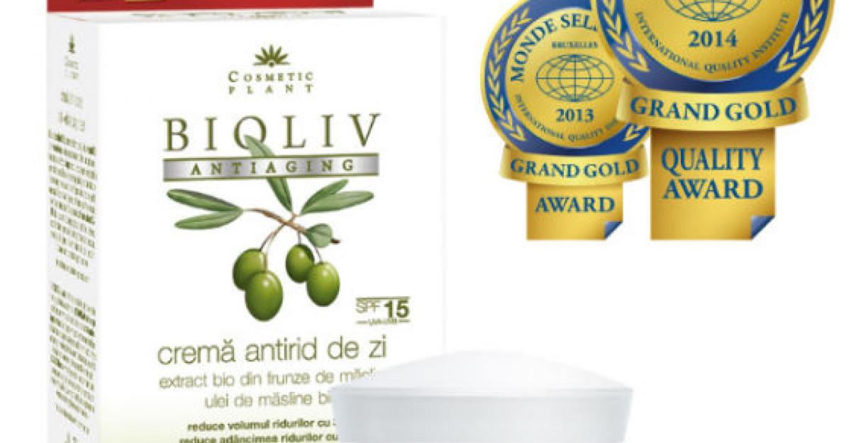 Producatorul clujean Cosmetic Plant a primit la Bruxelles trofeul mondial pentru excelenta in calitate