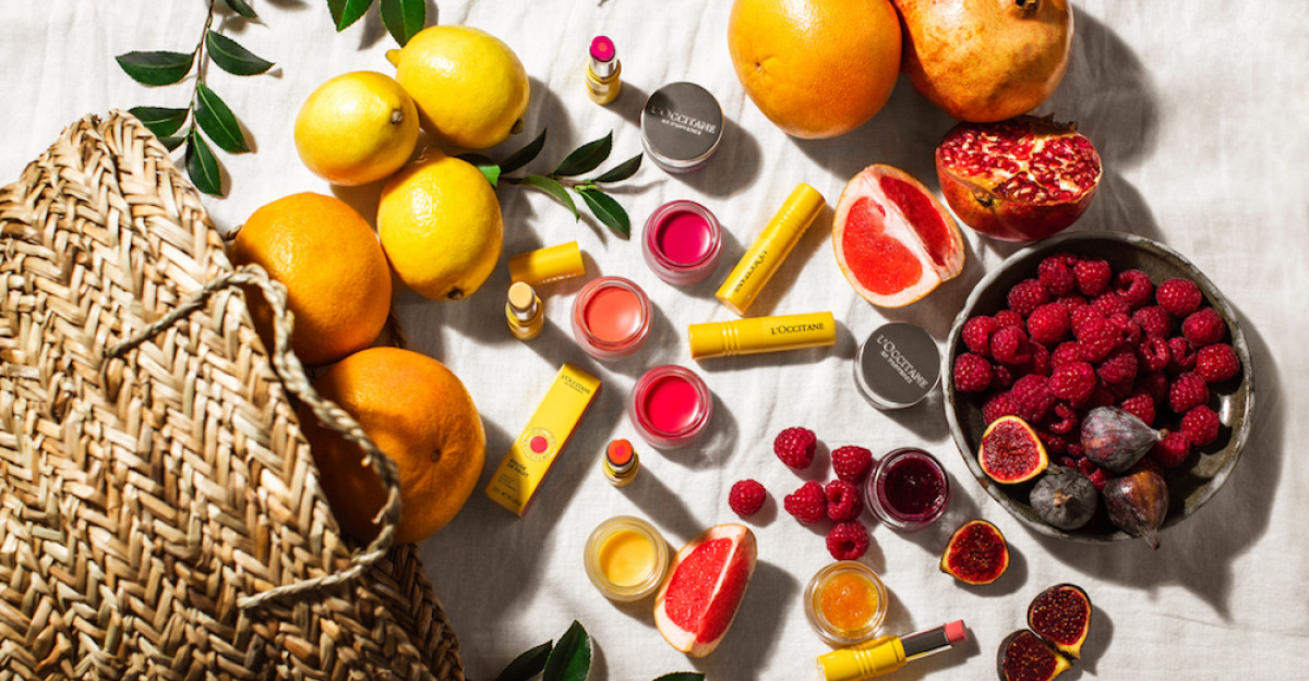 Frumusețe naturală cu ingrediente proaspete din ProvenceL'OCCITANE lansează o nouă gamă de răsfăț pentru buze și ten