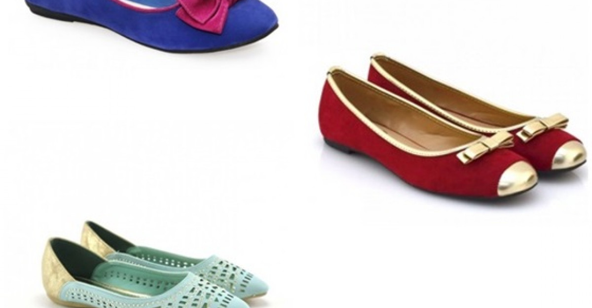 Shopping: Balerini colorati