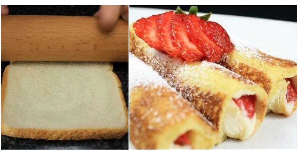 Foloseste un facalet pe o felie de paine si face CEL MAI BUN desert din lume