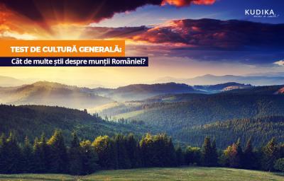 Test de cultura generala: Cat de multe stii despre muntii Romaniei?