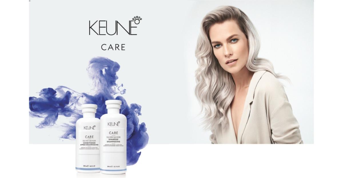 Keune Haircosmetics lansează gama Care Silver Savior, menită să păstreze reflexele gri ale părului blond