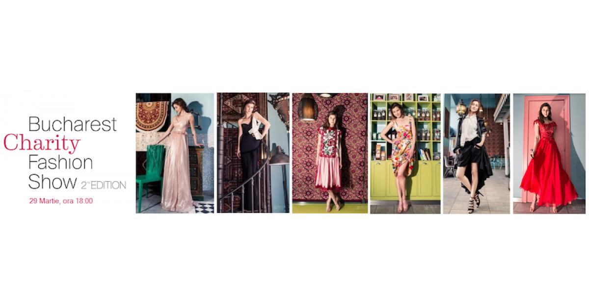 Primăvara asta moda este inspirată de fapte bune:Bucharest Charity Fashion Show