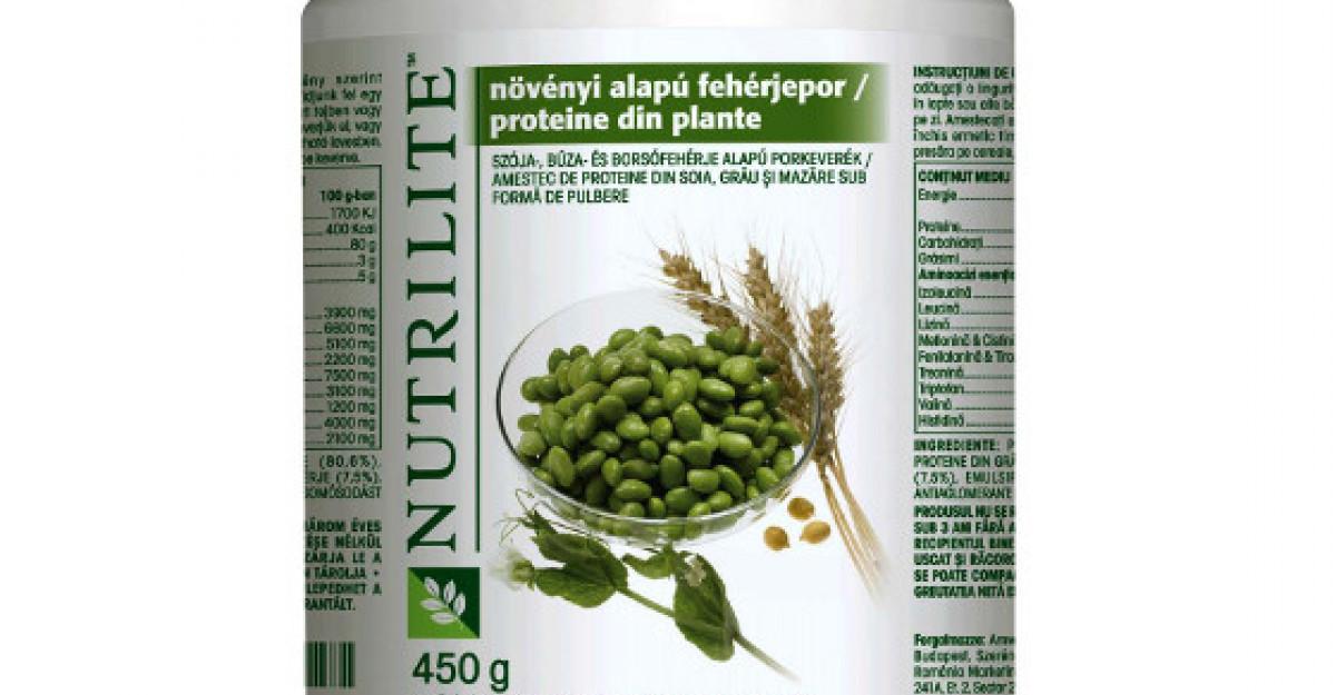 Amway prezinta NUTRILITE Proteine din plante