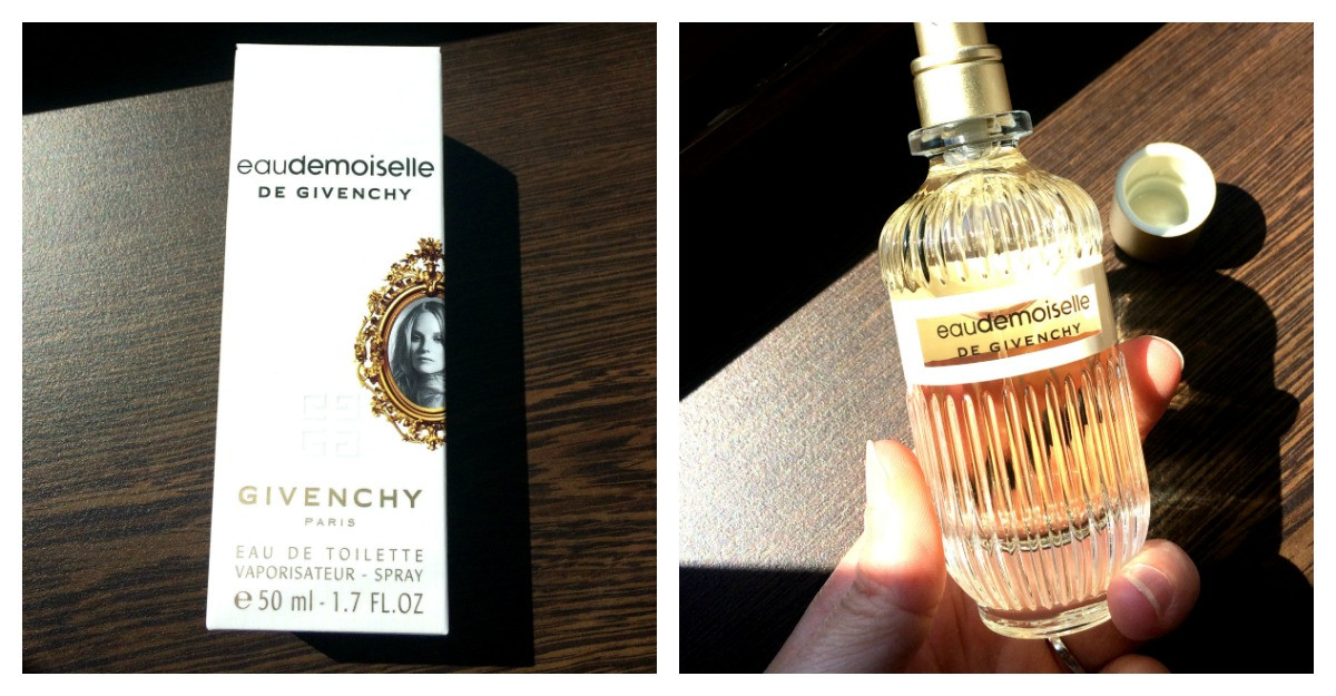 Parfumul Givenchy Eaudemoiselle: ca o poveste retro - review dupa testare