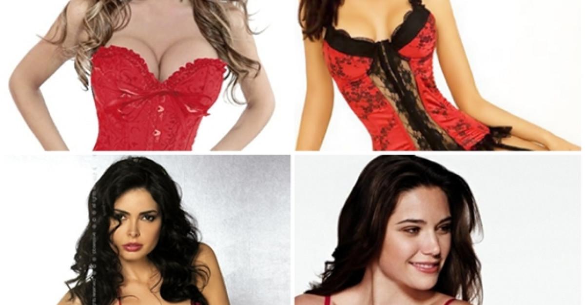 15 modele de lenjerie intima rosie pentru noaptea de Revelion