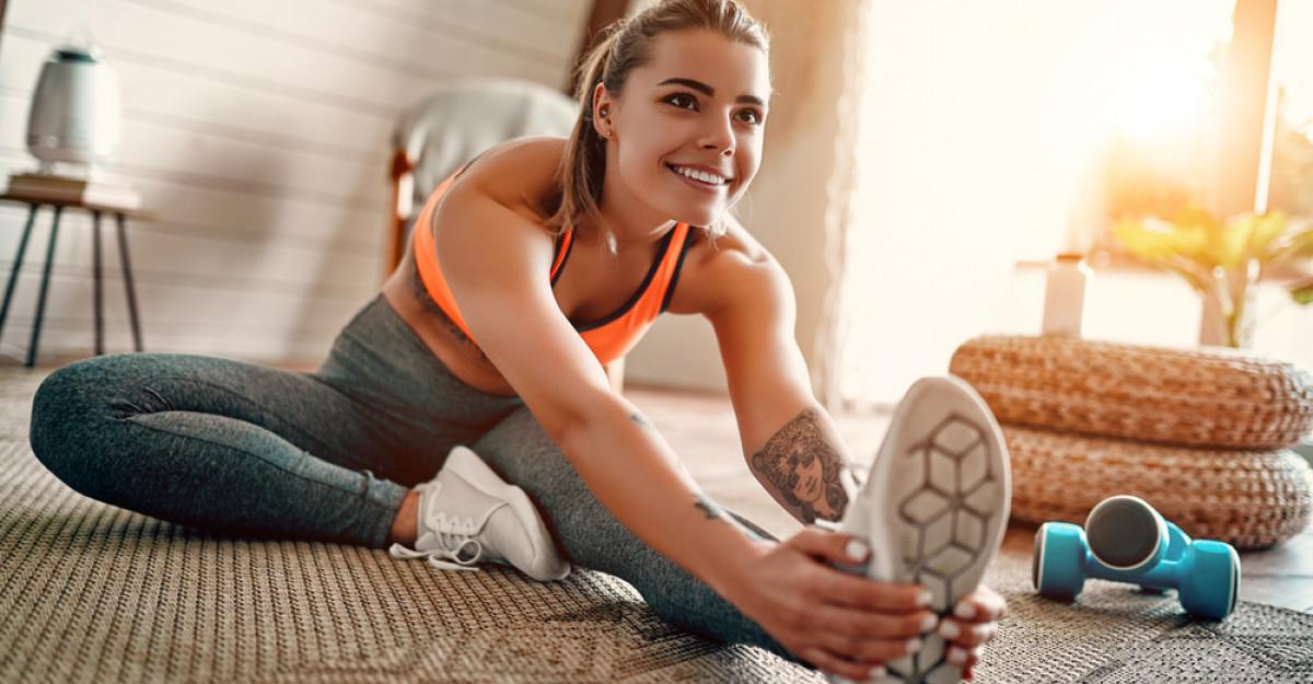 Un strop de imaginație vă poate ajuta să rămâneți în formă chiar și acasă