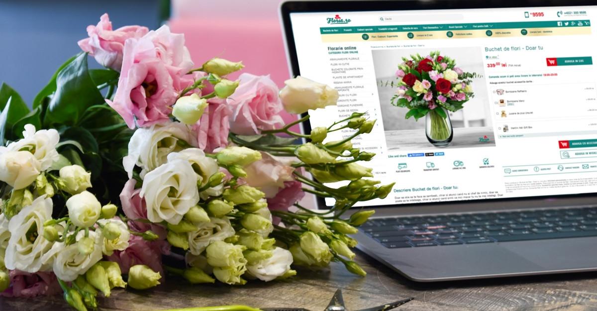 De Sfanta Maria, 20% dintre buchetele de flori sunt livrate in destinatii neobisnuite