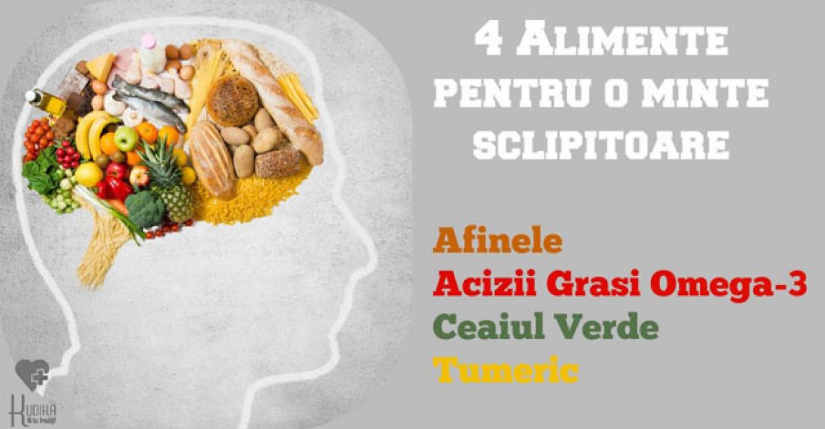4 ingrediente pentru o minte sclipitoare