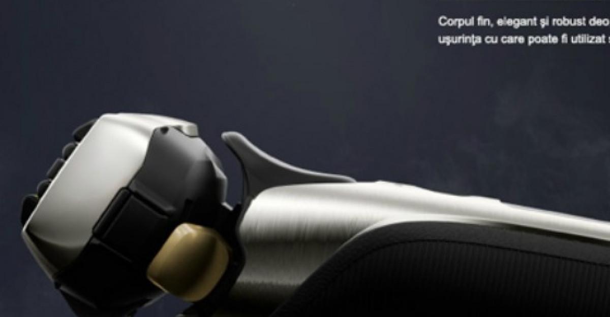Ascutisul sabiilor de samurai pe lamele aparatului de ras Panasonic ES-LV6N