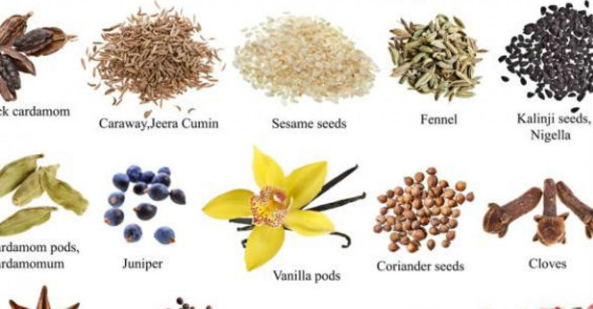 9 Condimente romanesti cu proprietati terapeutice