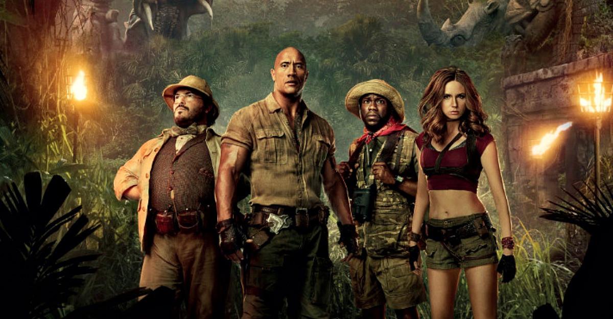 'Jumanji: Aventura in jungla'- lansarea sfarsitului de an, la cinema