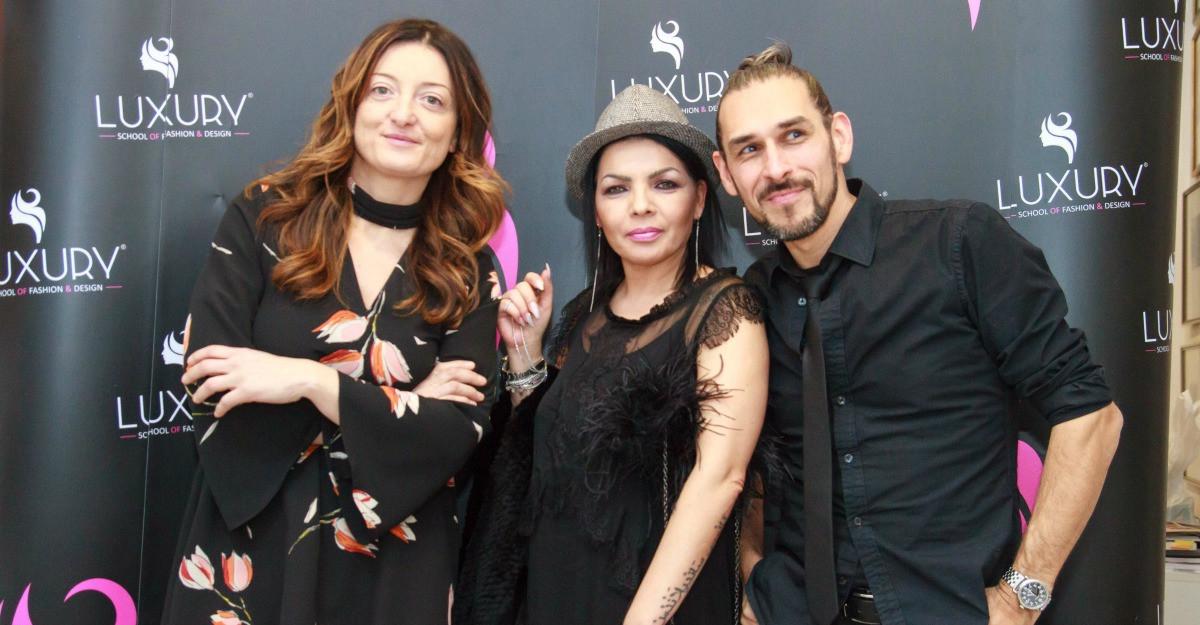 Pentru prima oara in Romania, trainerii Luxury Academy au realizat prima Consultanta de Imagine la evenimentul de lansare