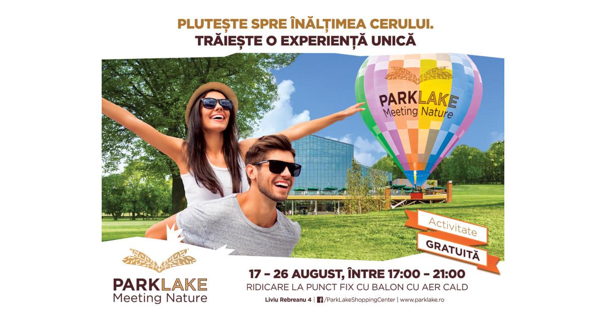 Plutește spre înălțimea cerului, la ParkLake