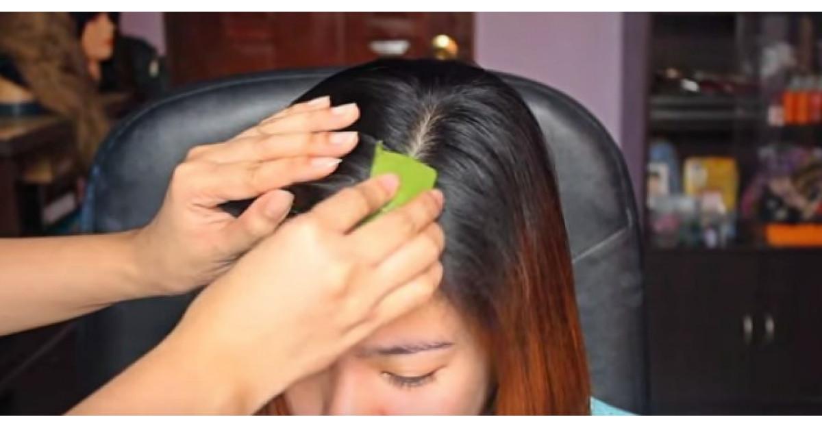 Singurul truc care te ajuta sa scapi de matreata si de scalpul uscat
