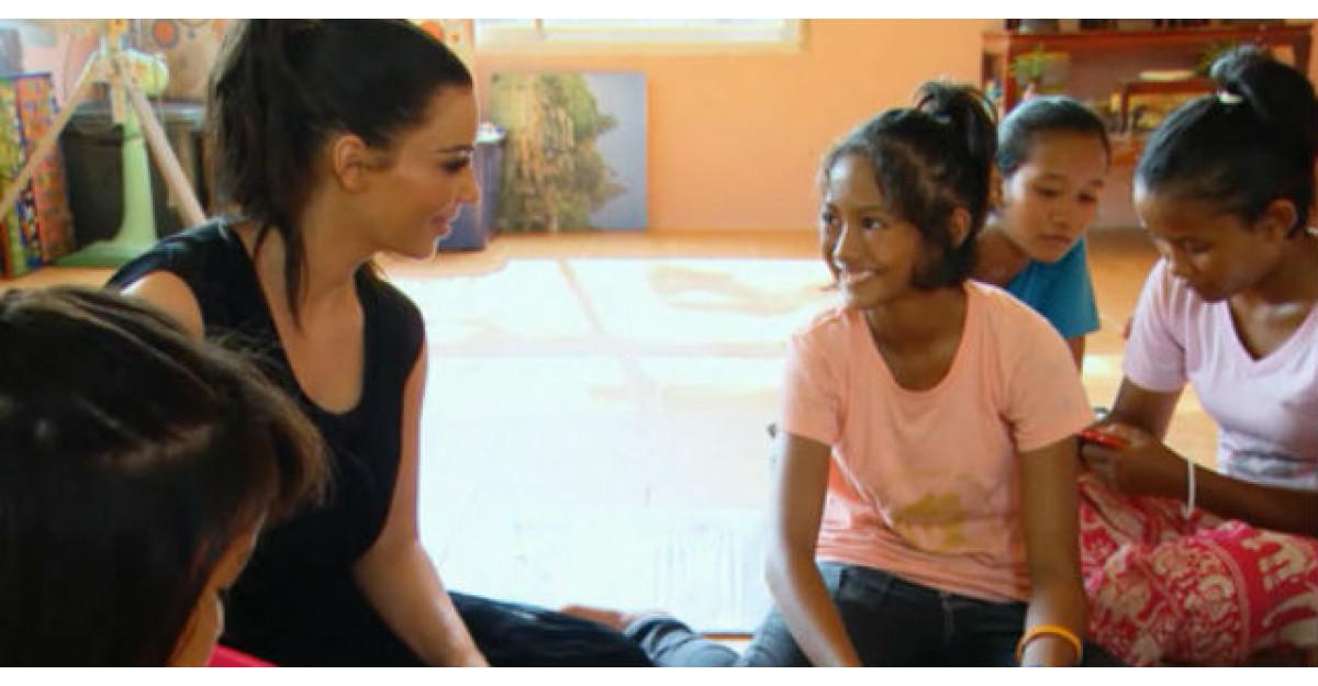 Fetita care A REFUZAT sa fie adoptata de Kim Kardashian. Toata lumea o felicita pentru CURAJUL ei