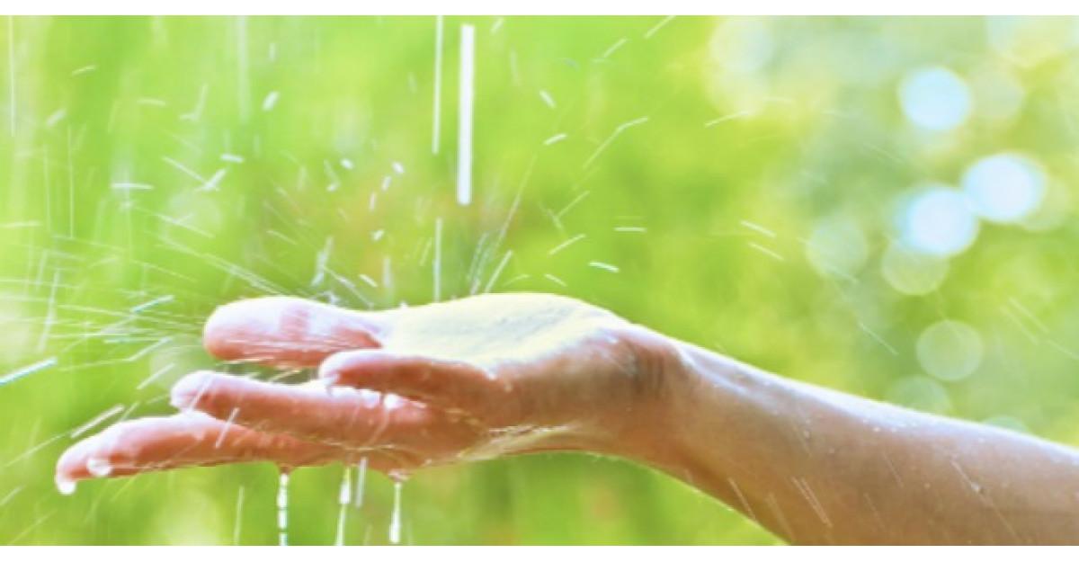 Apa de ploaie, beneficii spectaculoase pentru sanatate