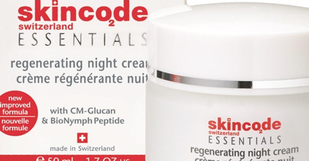 Skincode Essentials Crema Regeneranta de noapte