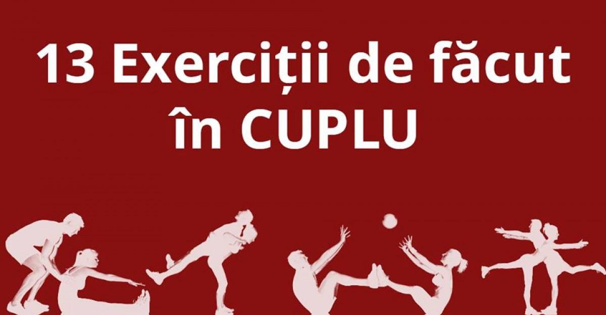 Sportul la puterea DRAGOSTEI: 13 Exercitii de facut in CUPLU