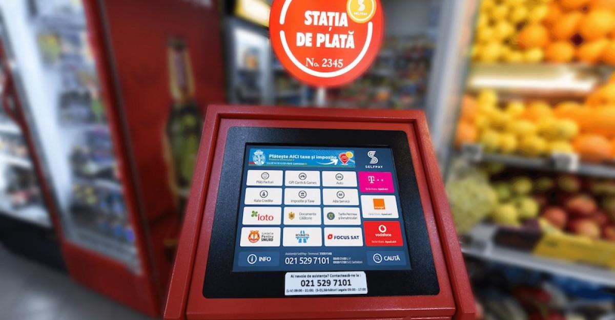 Peste 6.500 puncte noi de plată CEC Bank în asociere cu SelfPay