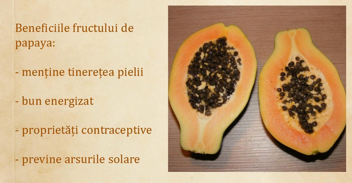Papaya sau fructul ingerilor - o adevarata farmacie naturala