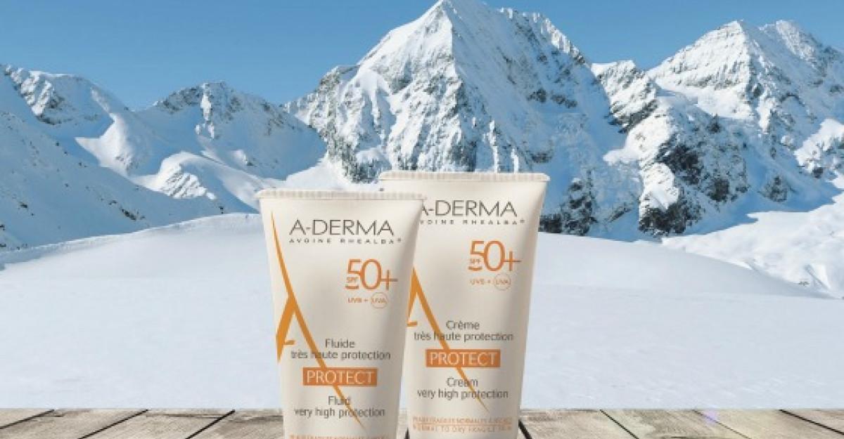 A-DERMA PROTECT apara pielea fragila de radiatiile ultraviolete