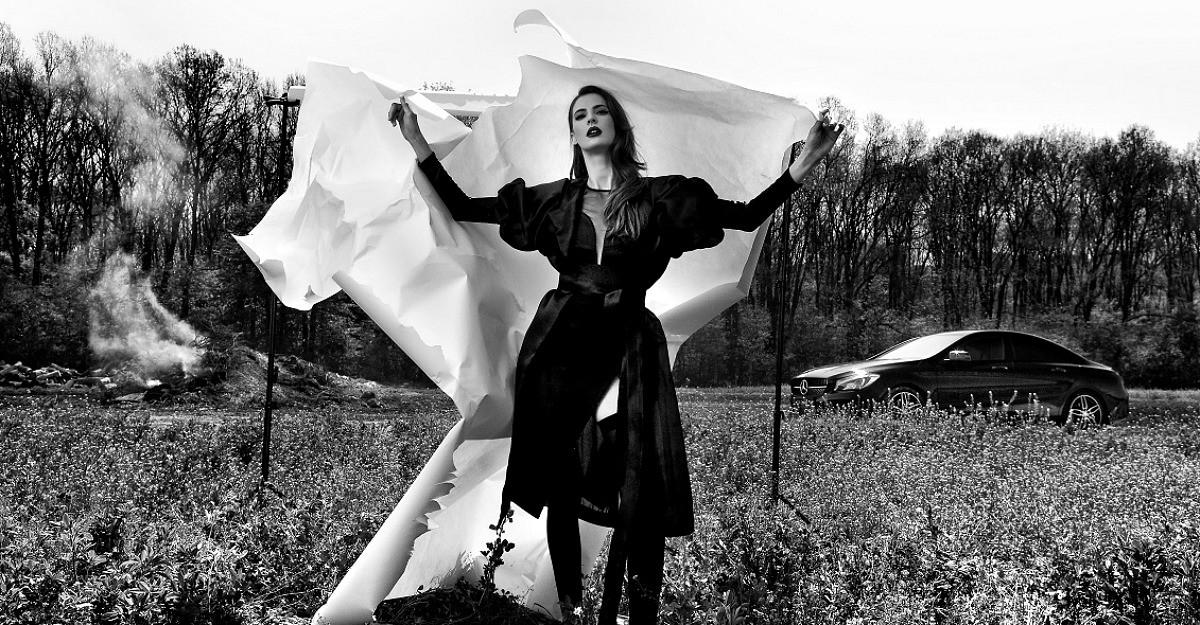Andreea Badala, designerul din spatele Murmur, pe un altfel de catwalk