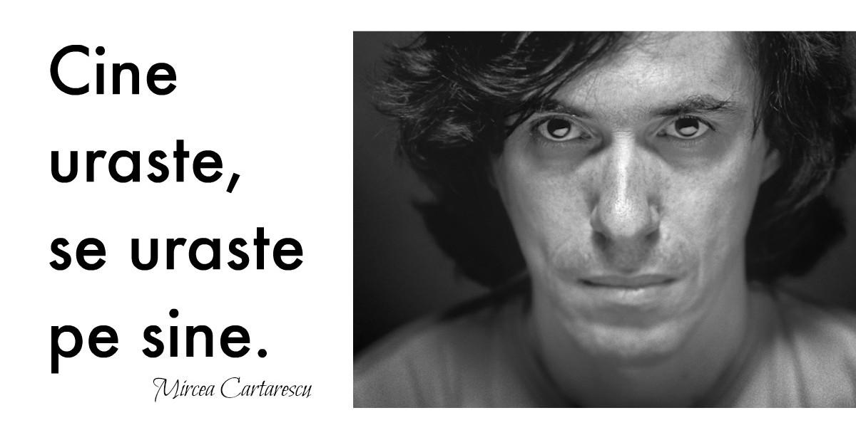 Alfabetul dragostei: Cele mai frumoase citate de iubire dupa Mircea Cartarescu