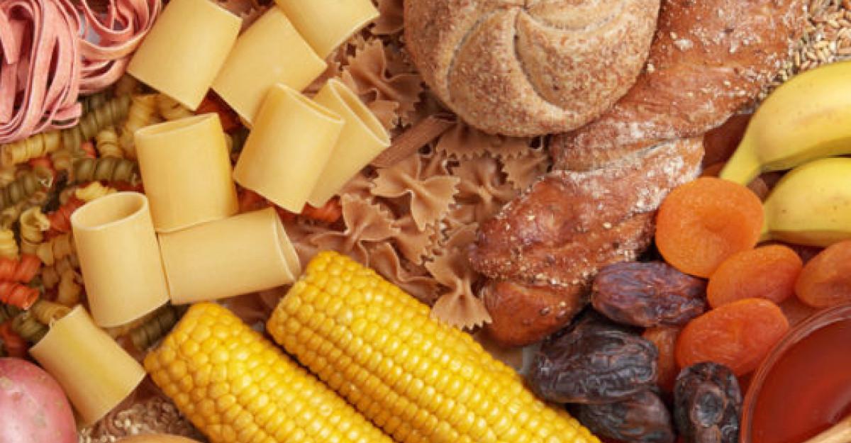 Carbohidratii - prieteni sau dusmani ai dietelor?