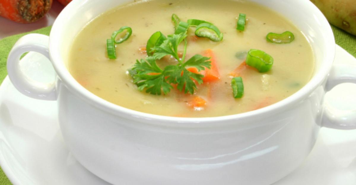 Savoarea verii: Supa crema de legume