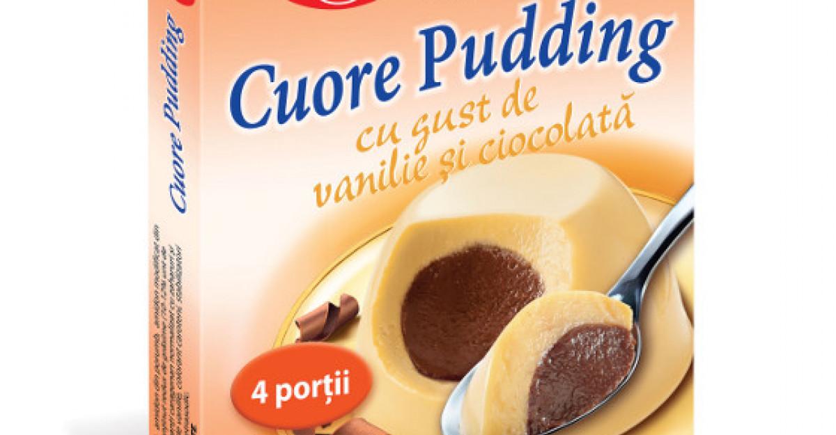 Dr. Oetker lanseaza Cuore Pudding, desertul fin si cremos cu o inima de budinca