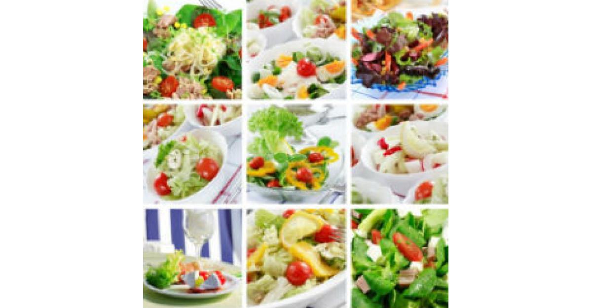 Slabeste sanatos: 5 Retete dietetice de salata
