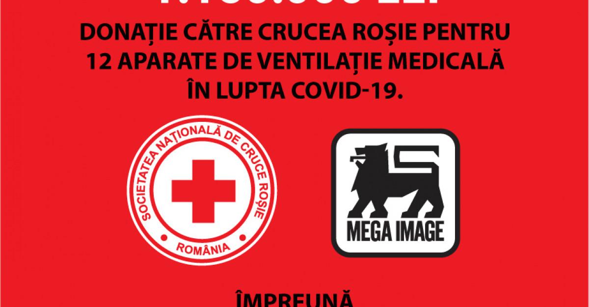 Mega Image continuă implicarea în lupta împotriva pandemiei COVID-19