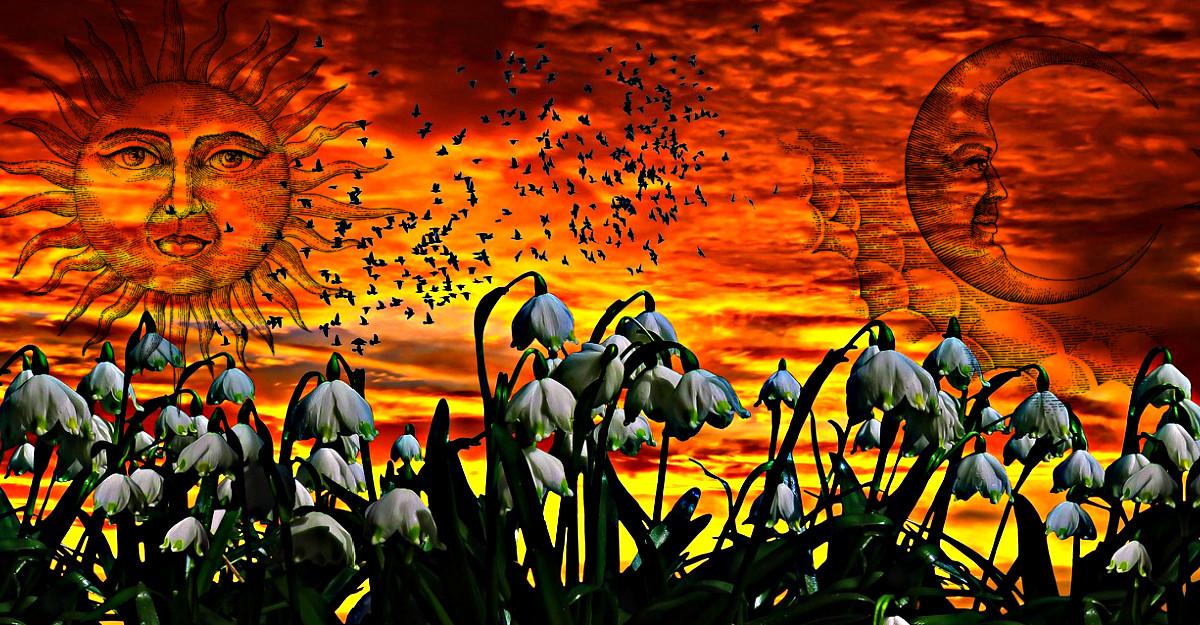 Echinocțiul de primăvară aduce speranță în sufletele noastre pe măsură ce ne îndreptăm spre un nou început