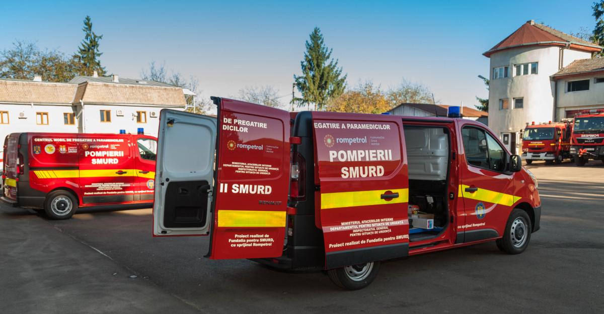 Rompetrol continuă parteneriatul cu Fundația pentru SMURD pentru salvarea de vieți