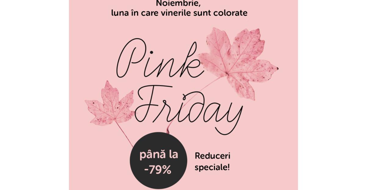 Pink Friday 2018 e perfect ca să-i conferi un nou look casei tale! Dar și ție.