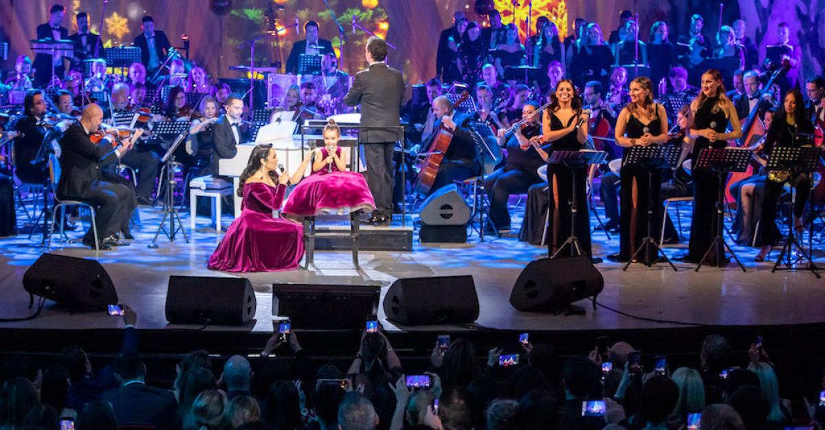 Andra și invitații săi au concertat pentru Hospice Casa Speranței