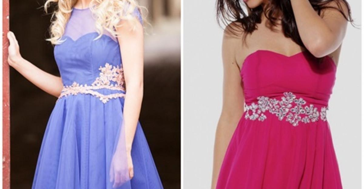Rochite colorate pentru domnisoarele de onoare