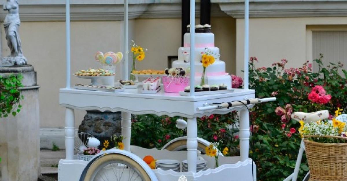Bicicleta care face hamburgeri - lansata la White Garden Party by Jubile Catering